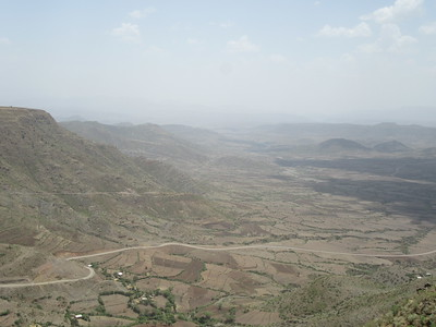 288_Lalibela  Vast arid mountain ranges of great beauty
