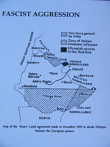 008_Ethiopia  The Facist (Italian) Agression, 1935  Capitulating to British forces in 1941