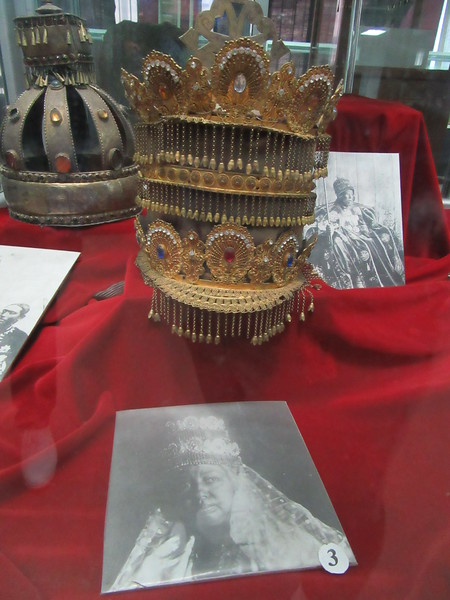 486_Royal Crown belonging to the Kings of Ethiopia  Made of precious stones  19th-20th Centuries