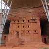 255_Beta Aba Libanos  Church was cut in one night by Masqal Kebra (King Lalibela wife), helped by angels  Buried here
