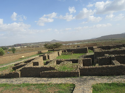 025_Axum  The Palace of Queen Sheba  9th Century BC