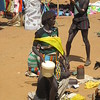 873_Key Afer  Tribal Market Day  Banna Tribe Women, with a Butter container