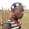 801_Omo Valley  Turmi  Hammer Village  Distinct Hairdo, Beadwork and Earings