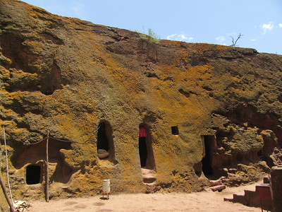 280_Lalibela Rock-Hewn church  Beta Ghioghis  The ermites caves