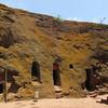 280_Lalibela Rock-Hewn church  Beta Ghioghis  The ermites caves