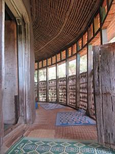 397_Lake Tana  Zeghie Peninsula  Ura Kidane Mehret Monastery  16th C  12 Doors for the 12 Apostles