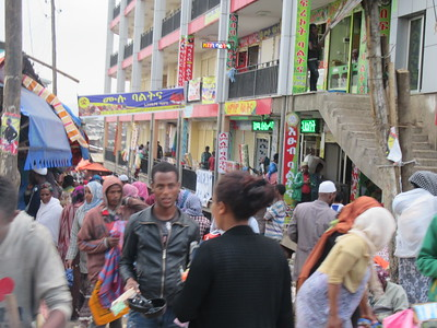 548_Addis Ababa  The Mercato  A vast grid of roads lined with stalls, kiosks and small shops