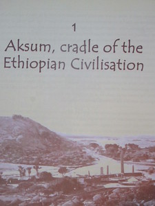 015_Axum  Ancient capital of Ethiopia   Set in a fertile area  Altitude of 2,131 meters