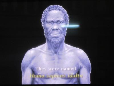 485_Addis Ababa  National Museum of Ethiopia  Human Evolution  Homo Sapiens Idaltu