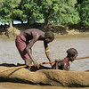 806_Omo Valley  Dassenech Village  Canoe built out of a single Tree Trunk