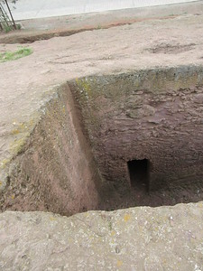 226_Lalibela Rock-Hewn churches  North-Eastern Group  Trenches and Tunnels