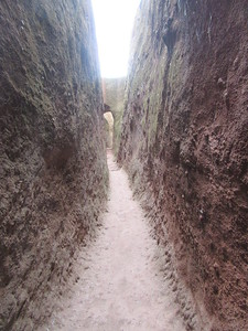 229_Lalibela Rock-Hewn churches  South-Eastern Group  Trenches