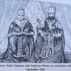 526_Emperor (Negus, King) Haile Selassie  Coronation 1930  256th and last king from Solomides dynasty