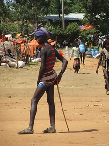 882_Key Afer  Tribal Market Day  Banna Tribe Men