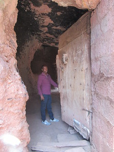 278_Lalibela Rock-Hewn church  Beta Ghioghis  Trenches and Tunnels
