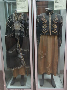 488_Addis Ababa  National Museum of Ethiopia  Ceremonial Dresses  1st half of 20th Century
