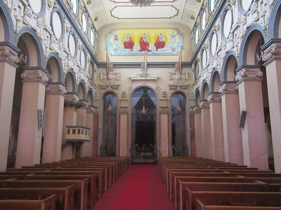 515_Addis Ababa  Holy Trinity Cathedral  Built by Emperor Haile Selassie in 1933  Ethiopia 2nd-most important place of worship