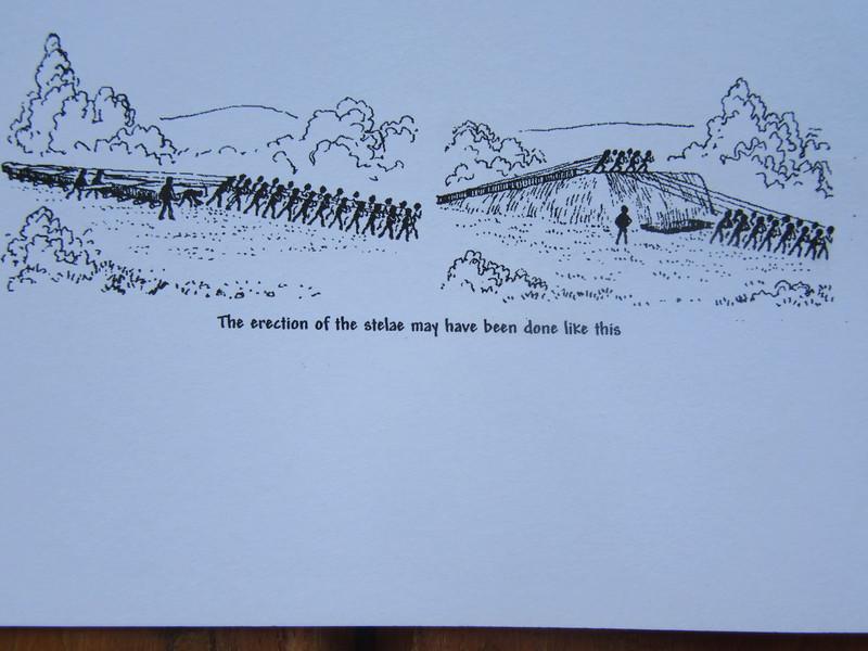 049_Axum  The Stelae Field, 3-4th C AD  Erection of a Stelae
