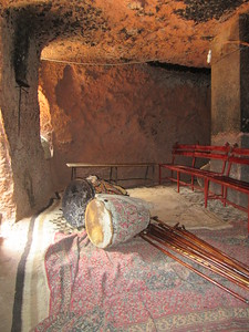 279_Lalibela Rock-Hewn church  Beta Ghioghis  The Chanting Room