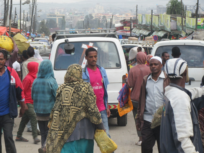 547_Addis Ababa  The Mercato  Reputedly the largest open-air market on the African continent