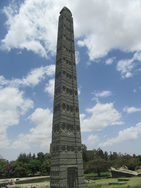 056_Axum  The Stelae Field, 3-4th C AD  The Rome stelea  The tallest at 24m high  170 tons