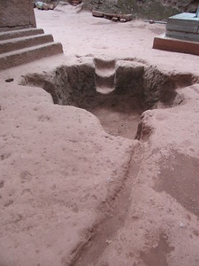 242_Lalibela Rock-Hewn church  South-Eastern Group  Beta Emmanuel  Holy Pool and Water evacuation system