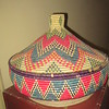 105_Axum  Wooven Basket  Made of Grass  Food Basket