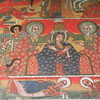 404_Ura Kidane Mehret Monastery  16th C  The maqdas, colorful and well-preserved, tell the stories of Ethiopian saints