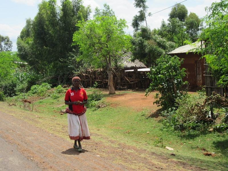 663_Konso Cultural Landscape  Double skirt  Short upper part means Single  UNESCO