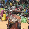 876_Key Afer  Tribal Market Day  Banna Tribe Women with Gourd on her Head