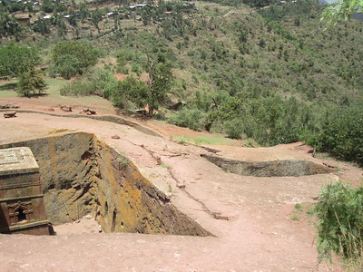 269_Lalibela Rock-Hewn church  Beta Ghioghis  Trenches and Tunnels