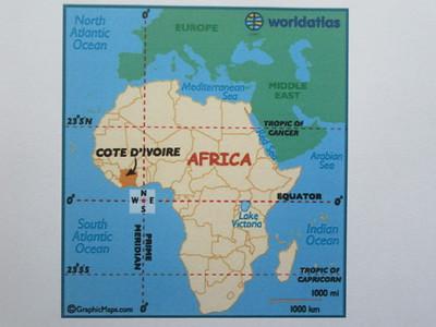 003_Côte d'Ivoire  450km de côte  47% du PIB de l'Afrique de l'Ouest