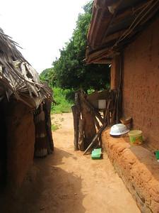 012_Casamance  Maison typique (en banco)  4 de 21  L'Entrée arrière