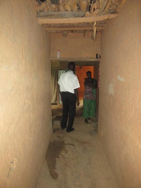 021_Casamance  Maison typique (en banco)  13 de 21  L'intérieur de la Maison