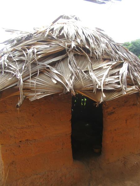 013_Casamance  Maison typique (en banco)  5 de 21  La Cuisine