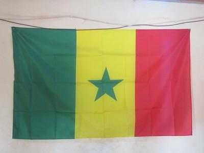 003_Casamance  Le Drapeau du Sénégal