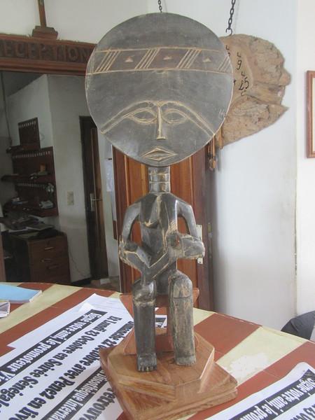 032_Casamance  Ziguinchor  Une Divinité