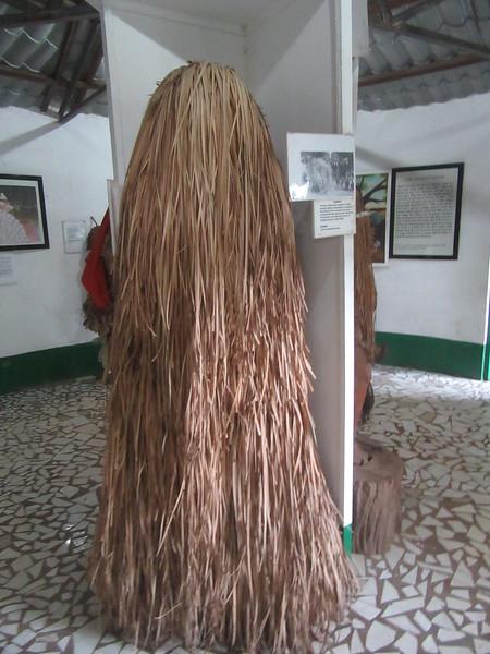 018_Banjul  Kachically Crocodile Poll and Museum  Kumpo  The Jola masquarade  A ceremonial mask  Represents the spirit of ancestors