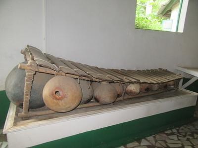 026_Banjul  Kachically Museum  The Balafon  The African xylophone