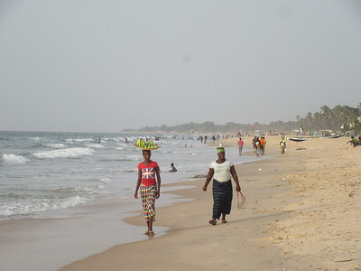 006_Serekunda  Beach and Atlantic Coast Resorts  The Smiling Coast  Tourism is 16% of GDP
