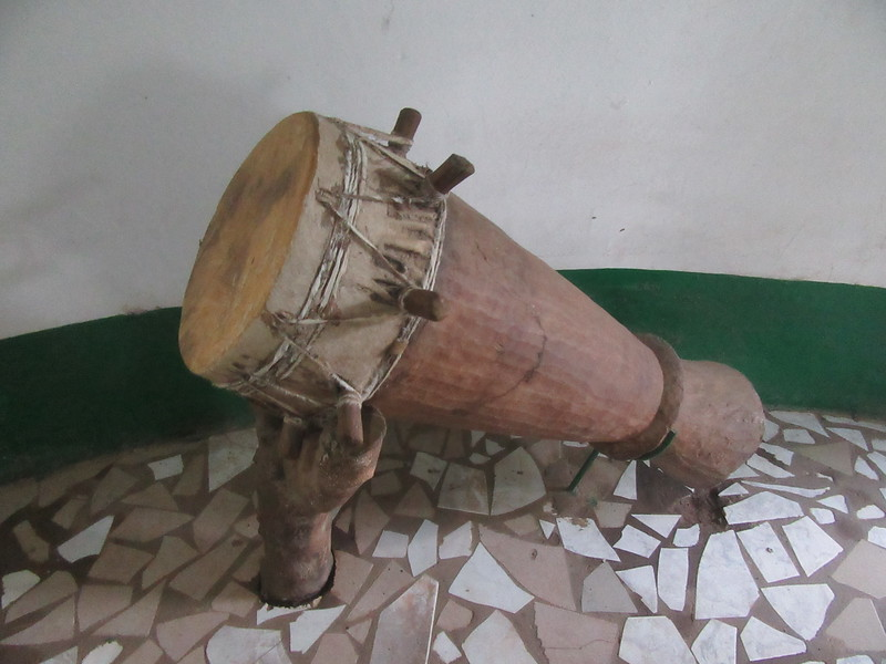 020_Banjul  Kachically Crocodile Poll and Museum