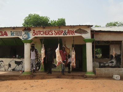 035_Banjul  Livestock  Butcher's Shop and Afra