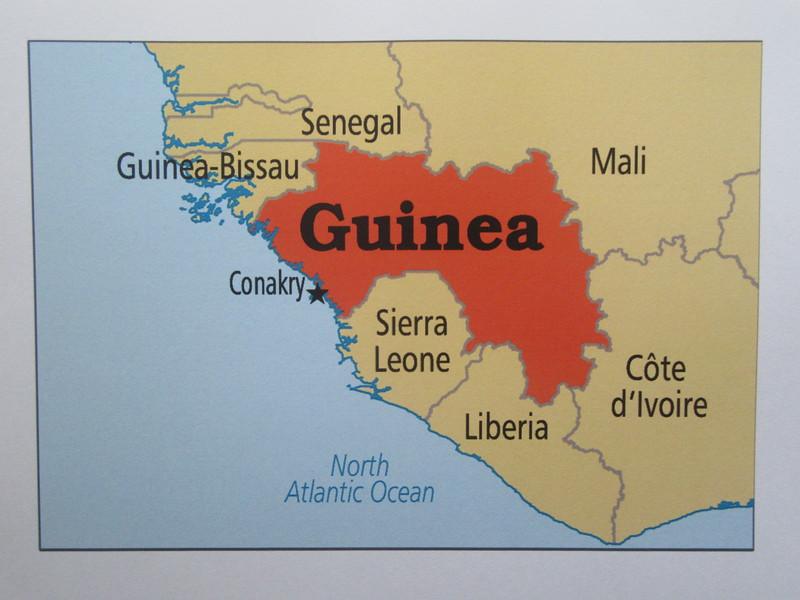 003_Guinée  (Conakry)  Le Golfe de Guinée signifie Pays du peuple noir