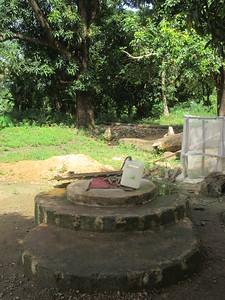 015_Dubreka  Le village Bondabon  Le puit communautaire
