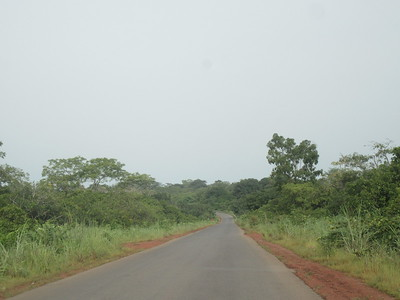 016_Guinea-Bissau  Road from the Cacheu Region to Bissau City