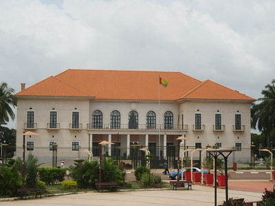 023_Guinea-Bissau  Bissau City  The Presidential Palace  Rebuilt by the Chinese