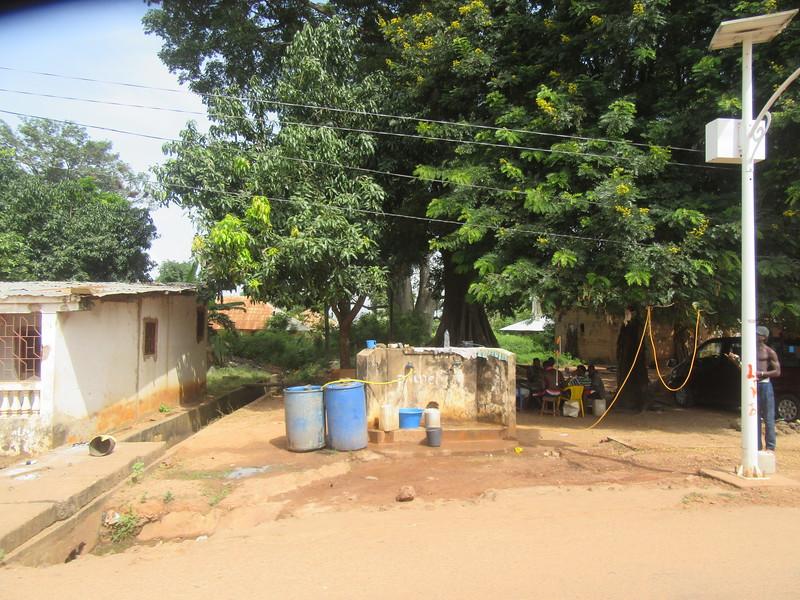 012_Guinea-Bissau  The Cacheu Region  Public Fountain