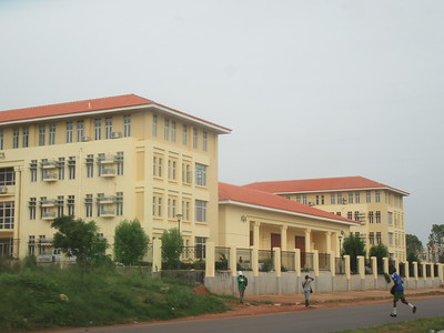 018_Guinea-Bissau  Bissau City  The Legislative (Court) House
