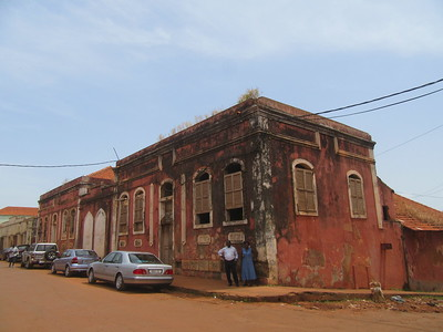 044_Guinea-Bissau  Bissau Velho (The Old Colonial Center)  UNESCO  A stretch of narrow alleyways and derelict buildings