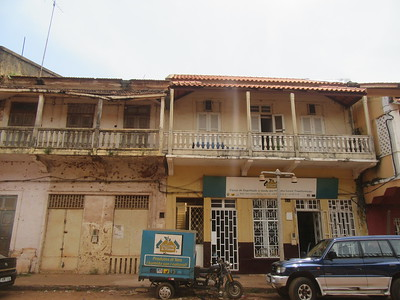 040_Guinea-Bissau  Bissau Velho (The Old Colonial Center)  UNESCO  A stretch of narrow alleyways and derelict buildings